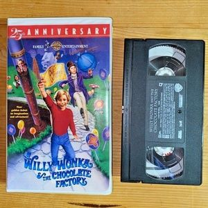 Willy Wonka and the Chocolate Factory (VHS)